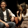 Steve Kazee and Cristin Militoi leaving 'Once' on March 25