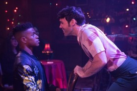 <i>The View UpStairs</i> stars Jeremy Pope and Taylor Frey discuss telling the story of a forgotten piece of LGBT history
