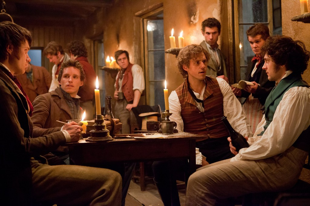 Eddie Redmayne as Marius, Aaron Tveit as Enjolras and George Blagden as Grantaire brought new life to classic characters. I loved how many of the West End boys they used in this too.
