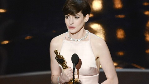 Anne Hathaway won the Academy Award for Best Supporting Actress.