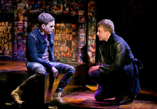 Taylor Trensch (Peter; Left) and Jason Hite (Jason; Right) in Bare.