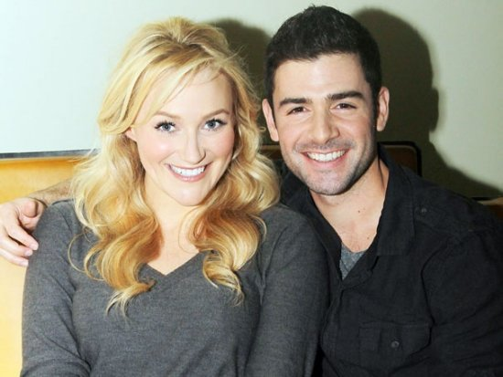 Betsy Wolfe and Adam Kantor
