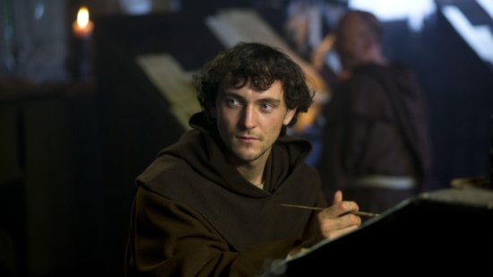 George Blagden in Vikings.