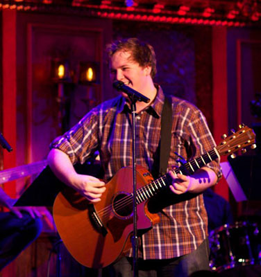 Alexander Sage Oyen rocks 54 Below in NYC
