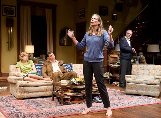 Amy Morton as Martha in 'Who's Afraid of Virginia Woolf?'