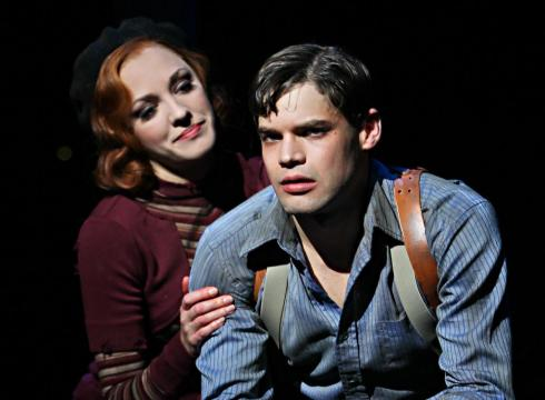 Osnes and Jordan in 'Bonnie & Clyde'