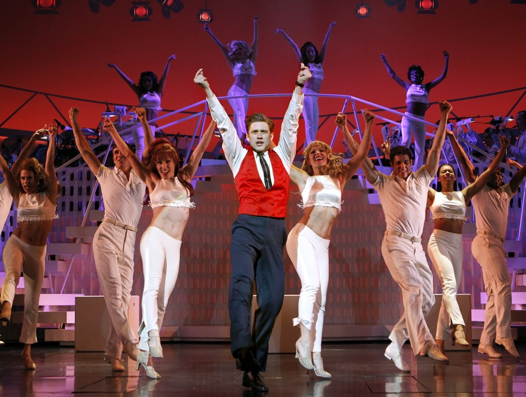 Aaron Tveit as con-man Frank Abagnale, Jr. in 'Catch Me If You Can'