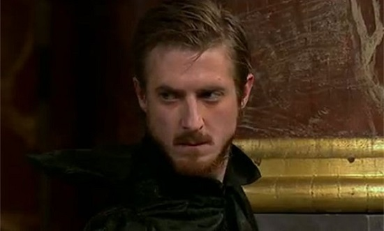 "Arthur Darvill as Mephistopheles in ""Doctor Faustus."""