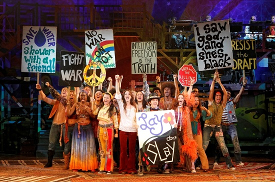 """The cast of """"Hair."""""""