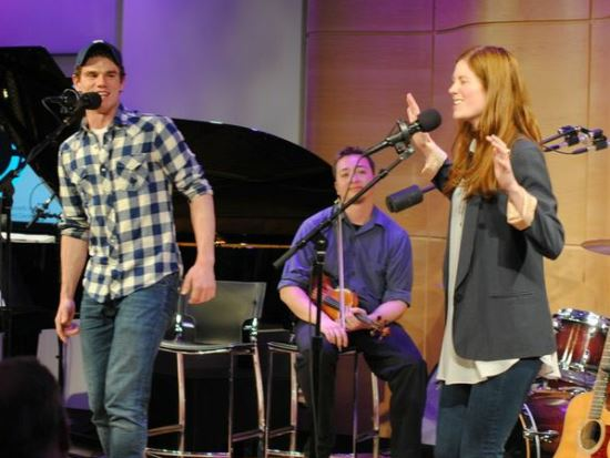 "Jay Armstrong Johnson and Allison Case perform ""I'm Gone"""