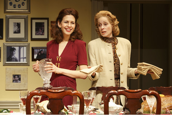 Jessica Hecht and Judith Light in 'The Assembled Parties.'