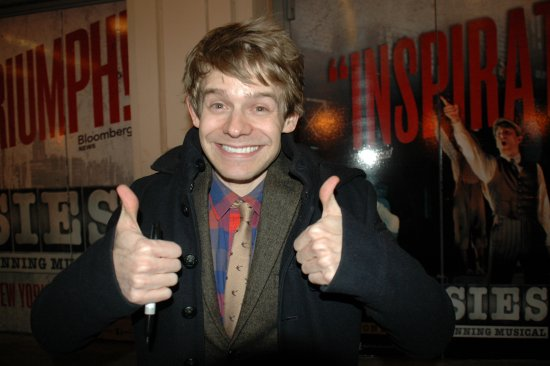 Andrew Keenan-Bolger. Photo credit: StageDoorDish.com.