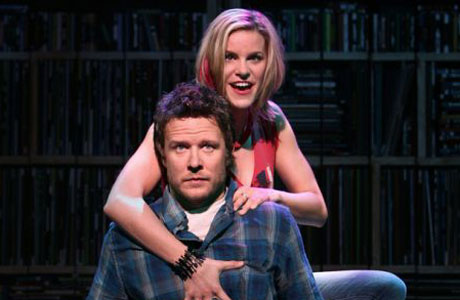"""Will Chase and Jenn Colella in """"High Fidelity."""""""