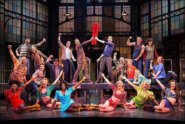 The Cast of 'Kinky Boots'