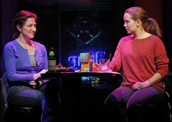 Edie Falco and Phoebe Strole in 'The Madrid'