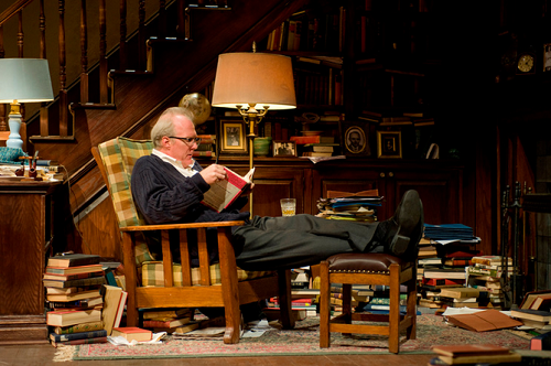 "Tracy Letts as George in ""Who's Afraid of Virginia Woolf?"""