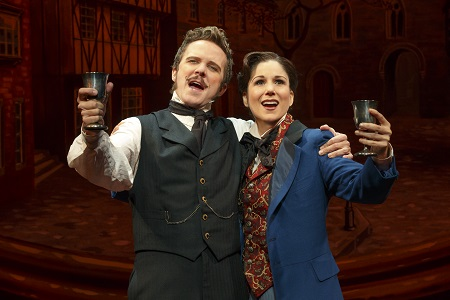 "Will Chase as Jasper in ""The Mystery of Edwin Drood."""