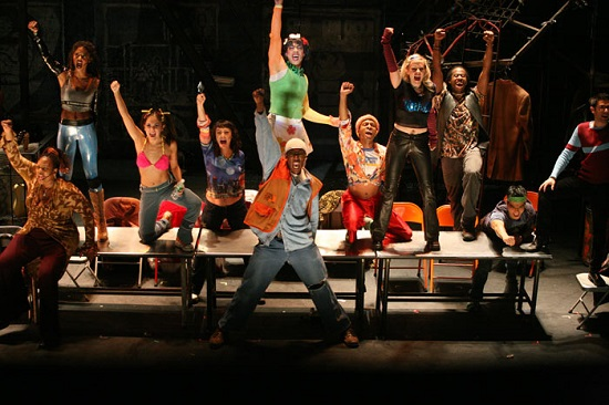 "The cast of ""RENT."""
