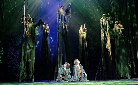 """Merry and Pippin meet the Ents in """"The Lord of the Rings."""""""