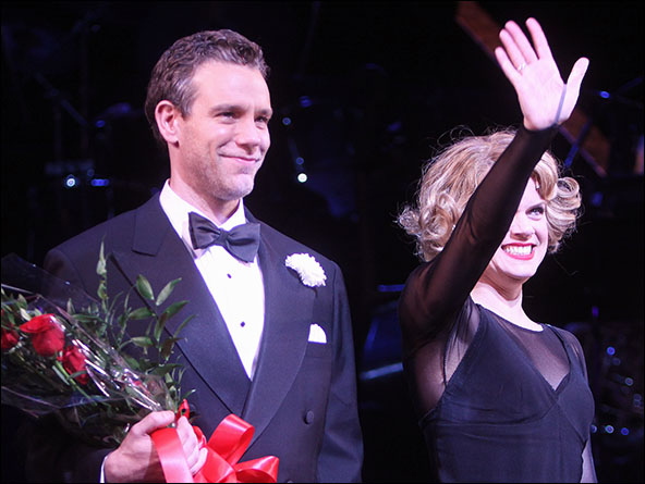 Adam Pascal and Amy Spanger in Chicago