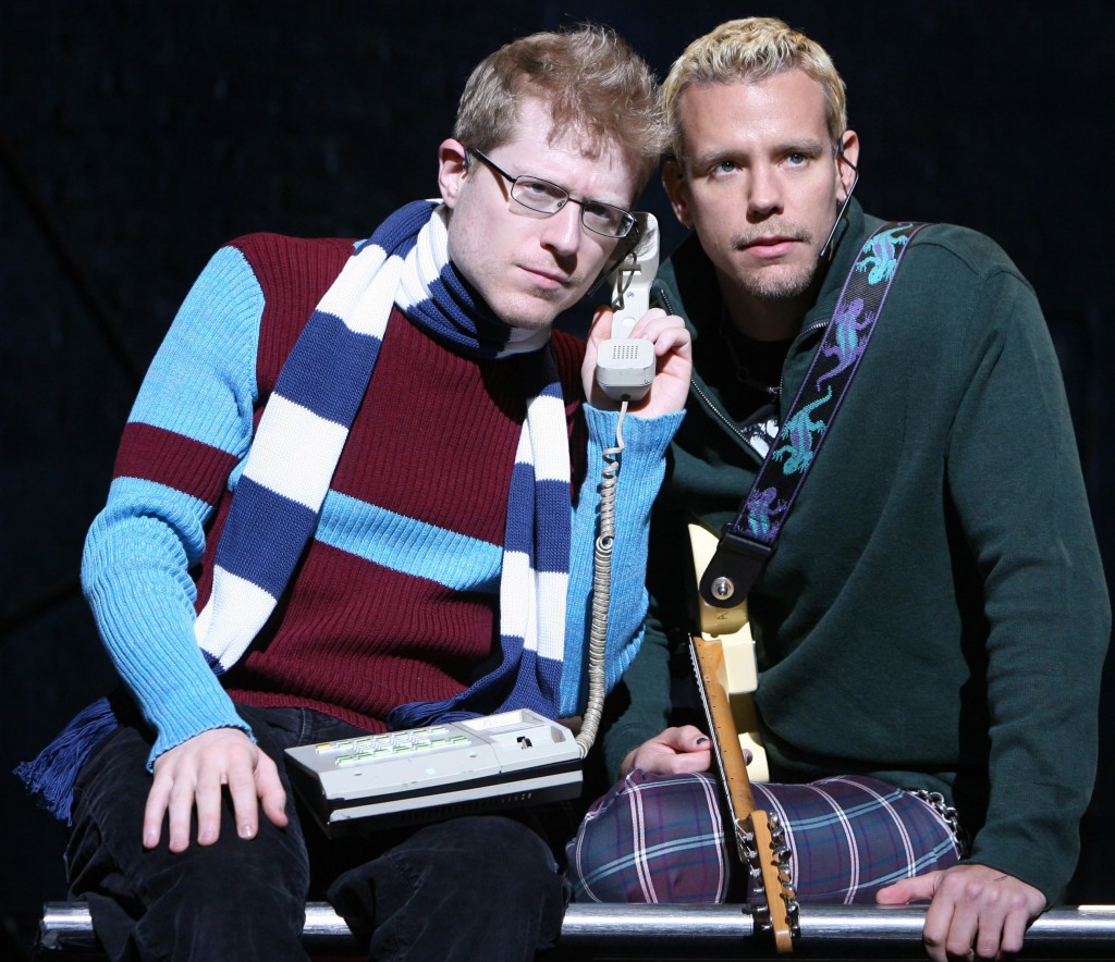 Anthony Rapp and Adam Pascal reprise their original roles in RENT