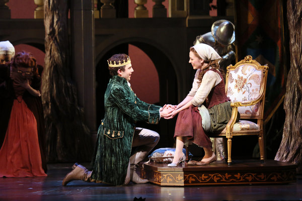 Santino Fontana and Laura Osnes in 'Cinderella.'