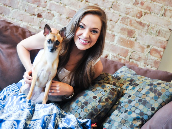 Laura Osnes and Lyla