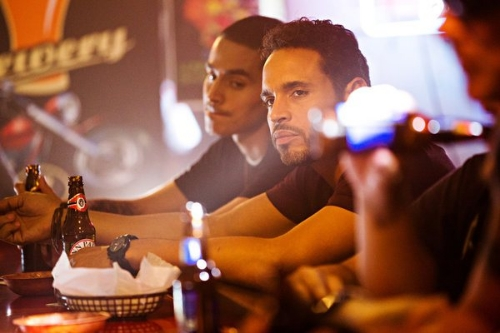 Manny Montana as Johnny Tuturro and Daniel Sunjata as Paul Briggs in 'Graceland'