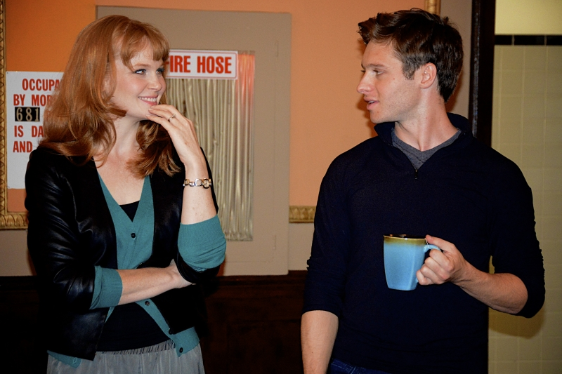Kate Baldwin and Bobby Steggart