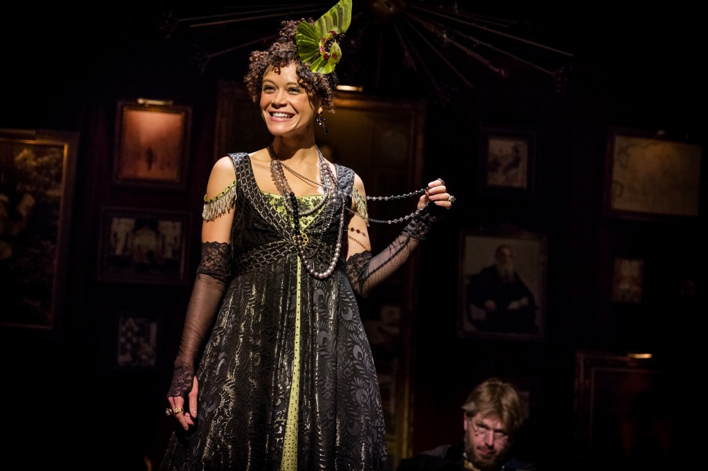 Amber Gray in The Great Comet of 1812 - Photo by Chad Batka