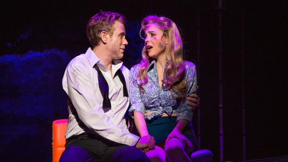Adam Pascal and Kerry Butler in Disaster!